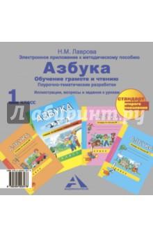 Азбука. Электронное приложение к метод. пособию. 1 класс. ФГОС (CD)