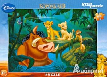 """Иллюстрация 1 из 4 для Step Puzzle-80  """"Disney- 4"""", в ассортименте (77110)   Лабиринт - игрушки. Источник: Лабиринт"""