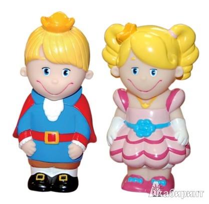 """Иллюстрация 1 из 11 для Набор пластизолей """"Принц  и Принцесса"""", 8 см (GT2795)   Лабиринт - игрушки. Источник: Лабиринт"""