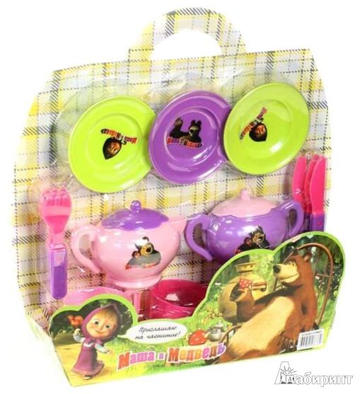 Иллюстрация 1 из 2 для Набор посуды (GT6033) | Лабиринт - игрушки. Источник: Лабиринт