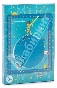 Пазлы Планета Маленького Принца, 80 элементовПазлы (54-90 элементов)<br>Пазлы с авторскими иллюстрациями из книги Антуана де Сент-Экзюпери Маленький принц.<br>Картинка в сборе: 180х220 мм.<br>Количество элементов: 80.<br>