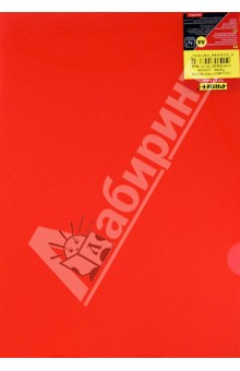 Папка-уголок A4, красная (20-1980)