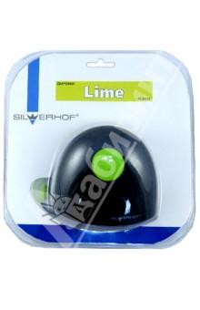 Дырокол пластиковый 15 листов LIME (391027) Silwerhof