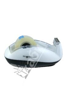 Диспенсер для клейкой ленты Ice (564003)Лента клейкая прозрачная<br>Диспенсер для клейкой ленты.<br>Материал: пластик.<br>Цвет: бело-черный.<br>Упаковка: прозрачная пластиковая коробка с подвесом.<br>Сделано в Китае.<br>