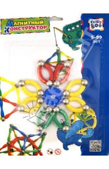 Магнитный конструктор Фигуры 4, 33 элемента (1381)Конструкторы магнитные<br>Конструктор магнитный.<br>Способствует развитию пространственного мышления, воображения, мелкой моторики.<br>Комплектность: 33 элемента.<br>Изготовлено из пластмассы и металла (магниты).<br>Для детей от 5-ти лет.<br>Упаковка: блистер.<br>Сделано в Китае.<br>