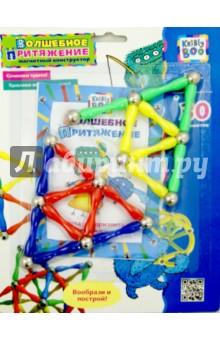 Магнитный конструктор Ромб, 30 элементов (1173)Конструкторы магнитные<br>Конструктор магнитный.<br>Способствует развитию пространственного мышления, воображения, мелкой моторики.<br>Комплектность: 30 элементов.<br>Изготовлено из пластмассы и металла (магниты).<br>Для детей от 5-ти лет.<br>Упаковка: блистер.<br>Сделано в Китае.<br>