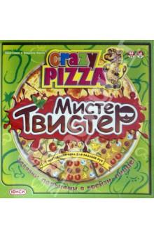 Настольная игра Крейзи пицца. Мистер Твистер. Развивающая игра для пальцев рук