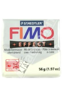 FIMO Effect полимерная глина, 56 гр., цвет вечерний жар (8020-04)Лепим из глины<br>FIMO Effect - это полимерная глина FIMO, схожая по свойствам с FIMO Soft, но с различными эффектами: с блестками, эффектом камня, металлик, люминесцентный и прозрачный.<br>Стандартный блок весит 56 грамм.  <br>Цвет: вечерний жар (04)<br>Сделано в Германии<br>