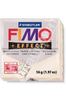FIMO Effect полимерная глина, 56 гр., цвет перламутр металлик (8020-08)Лепим из глины<br>FIMO Effect - это полимерная глина FIMO, схожая по свойствам с FIMO Soft, но с различными эффектами: с блестками, эффектом камня, металлик, люминесцентный и прозрачный.<br>Стандартный блок весит 56 грамм.  <br>Цвет: перламутр металлик (08)<br>Сделано в Германии<br>