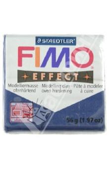FIMO Effect полимерная глина, 56 гр., цвет сапфир (8020-38)Лепим из глины<br>FIMO Effect - это полимерная глина FIMO, схожая по свойствам с FIMO Soft, но с различными эффектами: с блестками, эффектом камня, металлик, люминесцентный и прозрачный.<br>Стандартный блок весит 56 грамм.  <br>Цвет: сапфир (38)<br>Сделано в Германии<br>