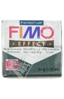FIMO Effect полимерная глина, 56 гр., цвет зеленый опал металлик (8020-58)