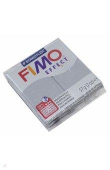 FIMO Effect полимерная глина, 56 гр., цвет серебро металлик (8020-81)Лепим из глины<br>FIMO Effect - это полимерная глина FIMO, схожая по свойствам с FIMO Soft, но с различными эффектами: с блестками, эффектом камня, металлик, люминесцентный и прозрачный.<br>Стандартный блок весит 56 грамм.<br>Цвет: серебро металлик (81)<br>Сделано в Германии<br>