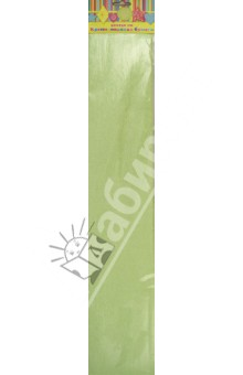 Бумага зеленая перламутровая крепированная (28593/10) Феникс+