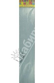 Бумага голубая перламутровая крепированная (28596/10)