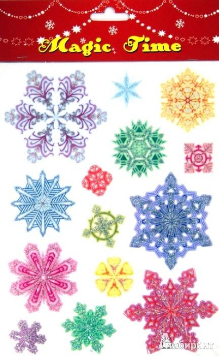 Иллюстрация 1 из 6 для Украшение новогоднее оконное (26610) | Лабиринт - сувениры. Источник: Лабиринт