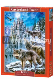 "Puzzle-1500 ""Волки и замок"" (C-151141)"