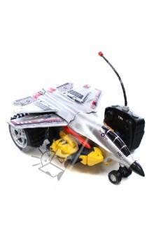 """Радиоуправляемый самолет """"Космический Супербоец Трансформер"""" (9087) Премьер-игрушка"""