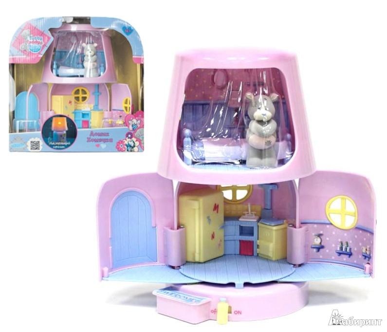 Иллюстрация 1 из 5 для Игровой дом с лампой (35620) | Лабиринт - игрушки. Источник: Лабиринт