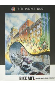 "Puzzle-1000 ""Да здравствуют велосипеды!"", Bike Art (29542) Heye"