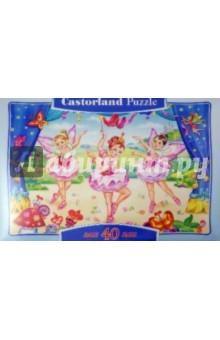 """Puzzle, 40 элементов, MAXI """"Маленькие балерины"""" (В-040056)"""