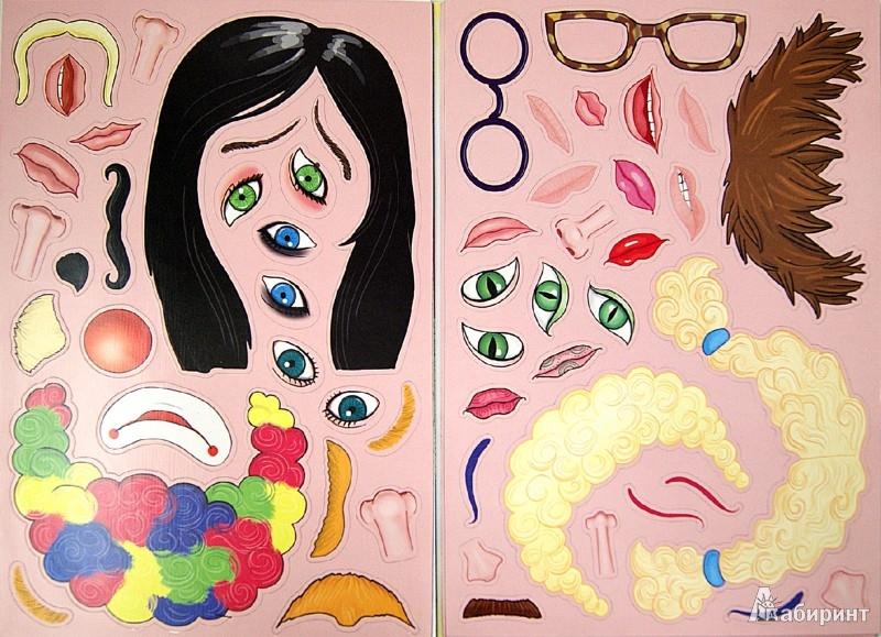 """Иллюстрация 1 из 11 для Магнитная книжка """"ПОРТРЕТЫ"""" для малышей (33098)   Лабиринт - игрушки. Источник: Лабиринт"""