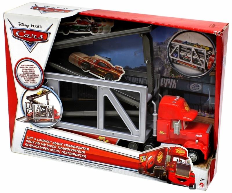 """Иллюстрация 1 из 2 для Трейлер Mack """"Cars 2"""" (1110Y)   Лабиринт - игрушки. Источник: Лабиринт"""