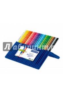 """Карандаши цветные """"Ergosoft"""" трехгранные, 24 цвета (157SB2410) STAEDTLER"""