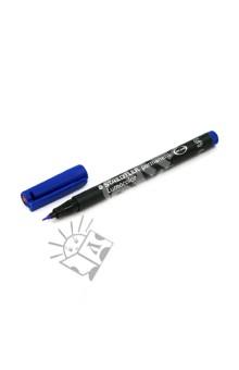Маркер универсальный перманентный Lumocolor S 0,4 мм, синий (313-3)Маркеры перманентные синие<br>Универсальный перманентный маркер.<br>- Универсальный маркер/ручка, для письма практически на любых поверхностях: бумага, пластик, кожа, стекло, фарфор, камень, дерево, металл, CD/DVD, полистирол и т.д.;<br>- Мягкое и долгое письмо;<br>- Пластиковый клип; <br>- Быстросохнущие, свето- и водостойкие чернила на спиртовой основе, практически без запаха;<br>- Уникальная система DRY SAFE позволяет оставлять маркер без колпачка на несколько дней без угрозы высыхания;<br>- Маркеры могут дозаправляться без контакта и вытекания чернил;<br>- Цвет чернил соответствует цвету колпачка и заглушки (синий);<br>- Функция  автоматического выравнивания давления, предотвращение от утечки чернил в полете;<br>- Яркие и насыщенные цвета;<br>- Толщина линии: 0,4 мм.<br>Сделано в Германии.<br>