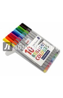 """Капиллярная ручка """"Triplus Liner"""" 0,3 мм, 10 цветов (334SB10) STAEDTLER"""