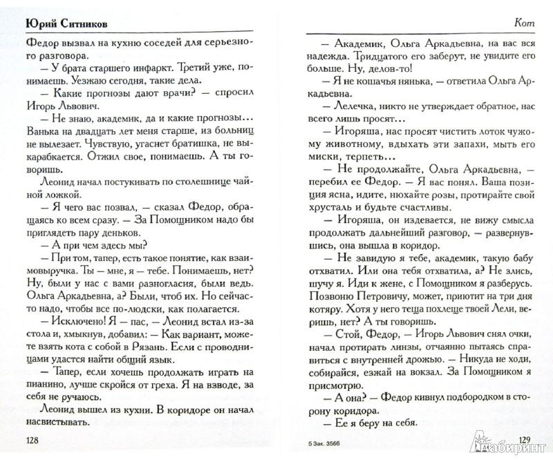 Иллюстрация 1 из 11 для Кот - Юрий Ситников | Лабиринт - книги. Источник: Лабиринт