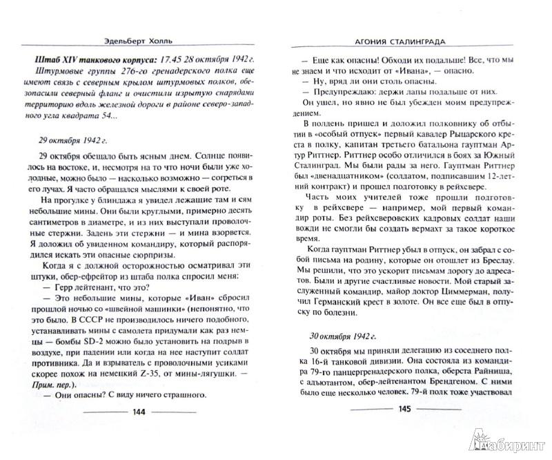 Иллюстрация 1 из 6 для Агония Сталинграда. Волга течет кровью - Эдельберт Холль   Лабиринт - книги. Источник: Лабиринт