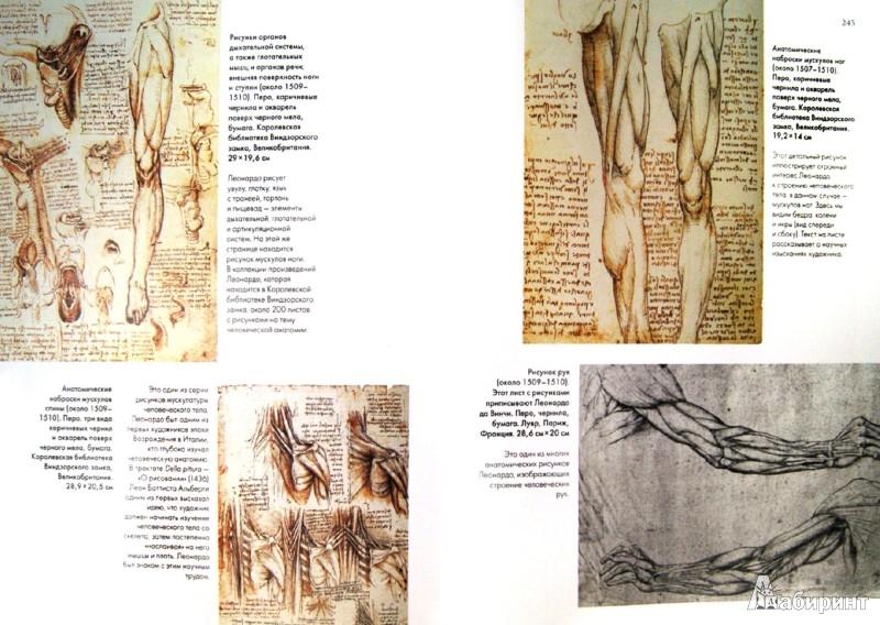 Иллюстрация 1 из 33 для Леонардо да Винчи. Жизнь и творчество в 500 картинах - Розалинда Ормистон | Лабиринт - книги. Источник: Лабиринт