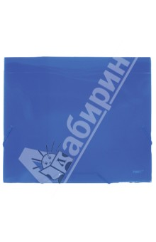 Папка A4 с резинкой, 40 мм, синяя 0.70 мм (SB40TW-04)Папки-конверты на резинках<br>Папка на резинке.<br>Клапаны папки надежно удерживают документы внутри. Резинки плотно закрывают папку.<br>Формат: А4<br>Толщина папки: 40 мм<br>Материал: пластик толщиной 0,70 мм.<br>Цвет: синий.<br>Предназначена для хранения и транспортировки бумаг.<br>Сделано в России.<br>