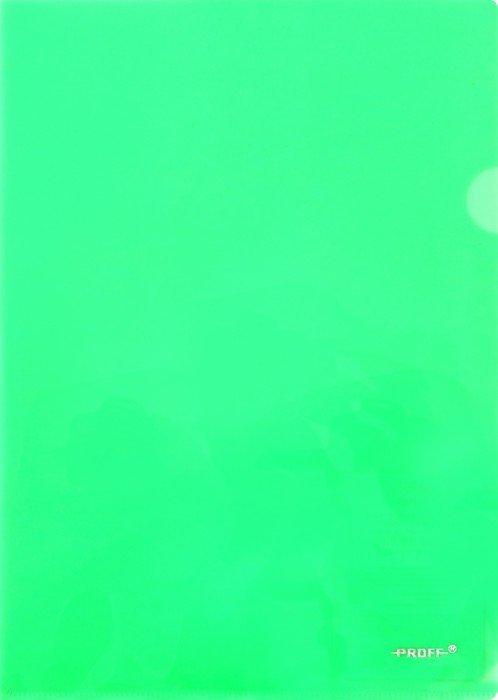 Иллюстрация 1 из 5 для Папка-уголок A4, зеленая 0.20 мм (CH510A/20-TF-03) | Лабиринт - канцтовы. Источник: Лабиринт
