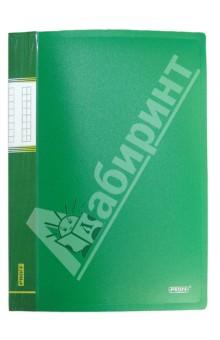 Папка A4 с 10 вкладышами, зеленая (DB10AB-03)