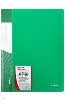 Папка A4 с 40 вкладышами, зеленая (DB40AB-03)Папки с прозрачными файлами<br>Папка с прозрачными файлами.<br>Цвет: зеленая.<br>Корешок с пластиковым карманом.<br>Толщина: 0.65 мм.<br>Количество вкладышей: 40.<br>Формат: А4.<br>