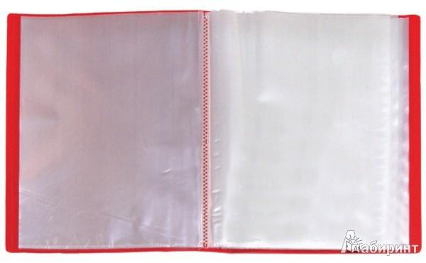 Иллюстрация 1 из 6 для Папка A4 с 60 вкладышами, красная (DB60AB-01)   Лабиринт - канцтовы. Источник: Лабиринт