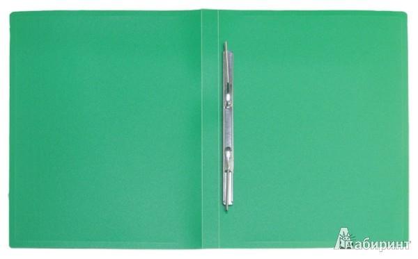 Иллюстрация 1 из 3 для Папка A4 с боковым пружинным скоросшивателем, зеленая (CF903-03) | Лабиринт - канцтовы. Источник: Лабиринт