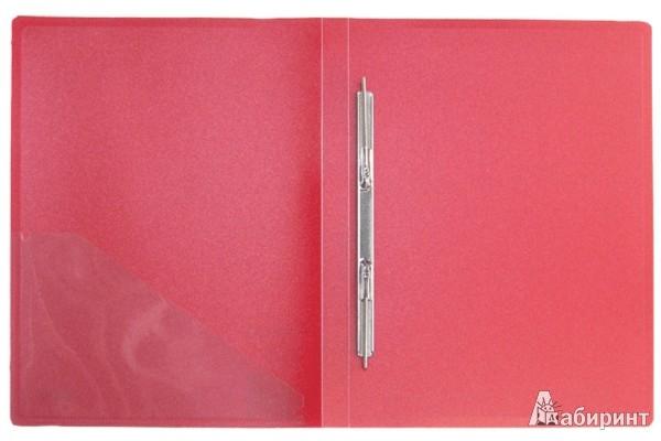 Иллюстрация 1 из 3 для Папка A4 с боковым пружинным скоросшивателем, красная (CF903P-01) | Лабиринт - канцтовы. Источник: Лабиринт