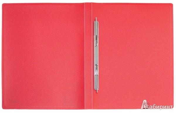 Иллюстрация 1 из 2 для Папка A4 с боковым пружинным скоросшивателем, красная (CF903-01) | Лабиринт - канцтовы. Источник: Лабиринт