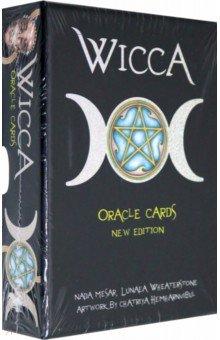Карты Оракул Ведьм (Викканский)Гадания. Карты Таро<br>Викканский мир в изображениях: вдохновение и описание пути по следам Бога Богини.<br>