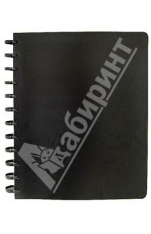 Папка на кольцах (20 файлов, черная) (CY20MG-BK)