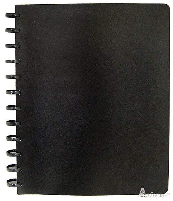 Иллюстрация 1 из 2 для Папка на кольцах. 40 файлов. Цвет: черный (CY40MG-BK)   Лабиринт - канцтовы. Источник: Лабиринт