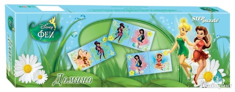 """Иллюстрация 1 из 6 для Disney. Домино""""Феи"""" (80108)   Лабиринт - игрушки. Источник: Лабиринт"""