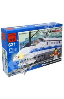 """Конструктор """"Поезд"""", 178 деталей (Р49095)"""