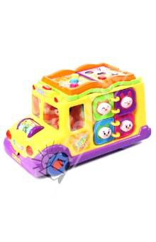 Игрушка обучающая Забавный автобус (Р40595)