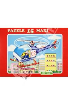 """Пазл MAXI 15 """"Вертолет"""" (К-1506)"""