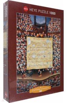 Puzzle-1000 Партитура для оркестра (29564)Пазлы (1000 элементов)<br>Пазл-мозаика. <br>Количество элементов: 1000<br>Размер картинки: 50х70 см.<br>Правила игры: вскрыть упаковку и собрать игру по картинке.<br>Материал: картон<br>Упаковка: картонная коробка.<br>Не давать детям до 3-х лет из-за наличия мелких деталей.<br>Сделано в Германии.<br>