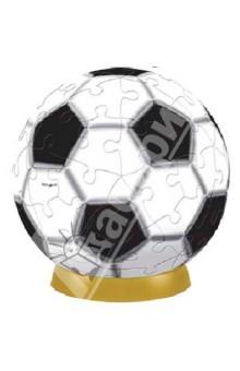"""Пазл шаровый 60 деталей """"Футбол"""" 7,6 см. (А2700-03) от Лабиринт"""