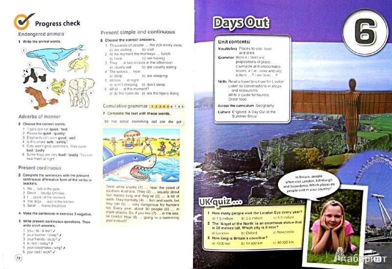 Иллюстрация 1 из 10 для Английский язык. 6 класс. Учебник. ФГОС (+CD) - Комарова, Ларионова, Макбет | Лабиринт - книги. Источник: Лабиринт